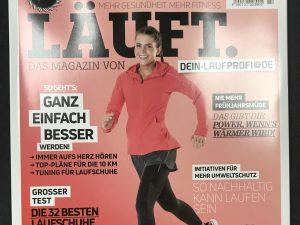 """Die neue Ausgabe ist da! """"Läuft""""- Das Laufmagazin"""